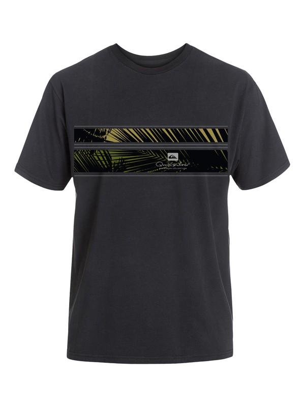 0 Men's Palm Nation T-Shirt  AQMZT03056 Quiksilver