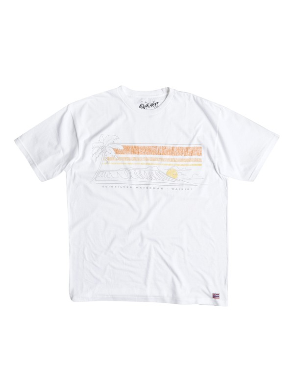 0 Mens Diamond Set Tee  AQMZT03068 Quiksilver