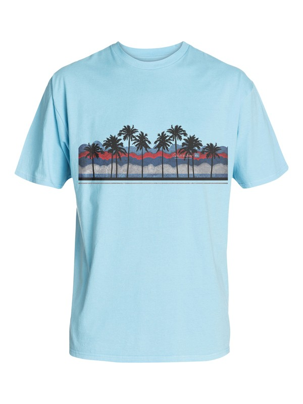 0 Men's Poolside T-Shirt  AQMZT03077 Quiksilver