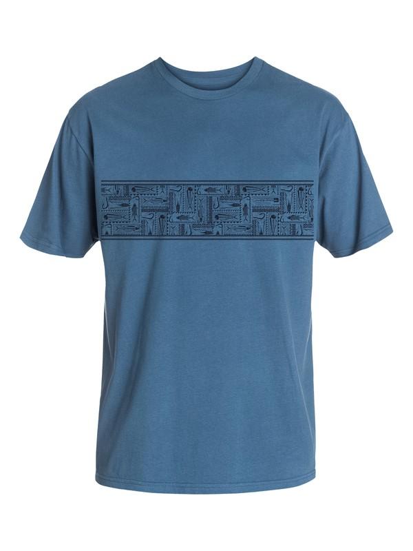 0 Men's Hooked T-Shirt  AQMZT03083 Quiksilver