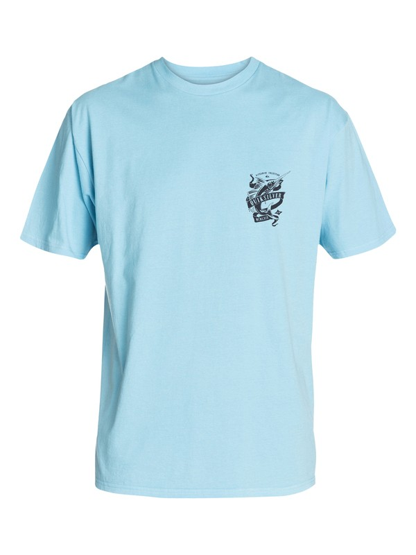 0 Men's Fresh Catch T-Shirt  AQMZT03084 Quiksilver