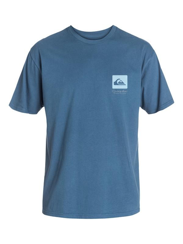 0 Men's Fin Chop T-Shirt  AQMZT03085 Quiksilver