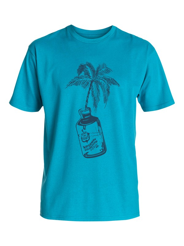 0 Men's Message Bottle Tee  AQMZT03099 Quiksilver