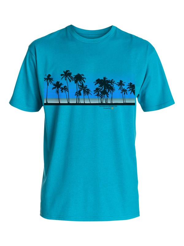 0 Men's Sunset Palms Tee  AQMZT03106 Quiksilver