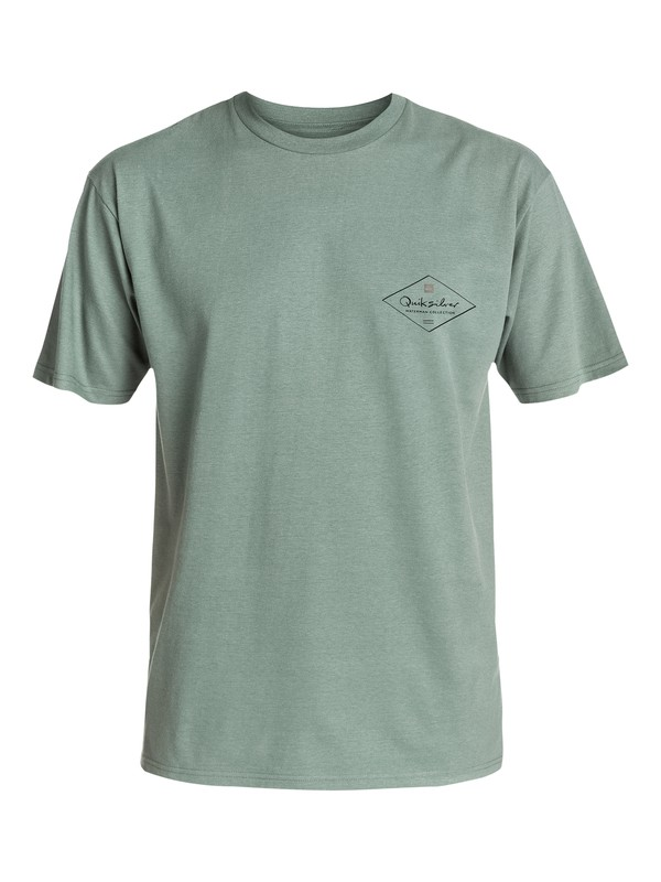 0 Men's Diamond Style T-Shirt  AQMZT03128 Quiksilver