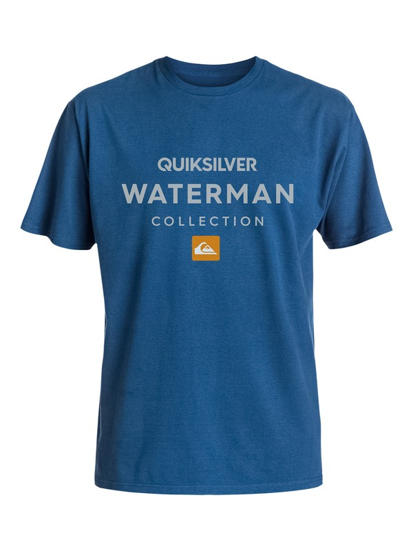 0 Men's Heavy Waters Tee  AQMZT03132 Quiksilver