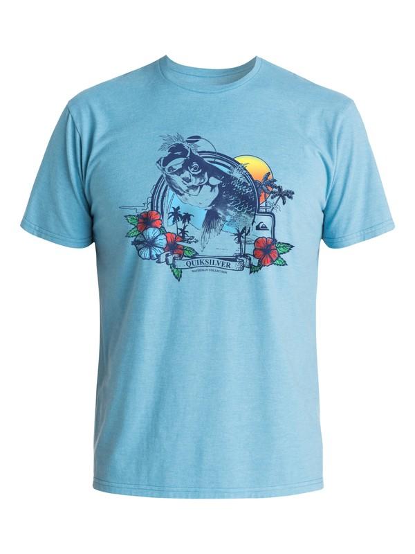0 Waterman Tarpon - T-Shirt  AQMZT03141 Quiksilver