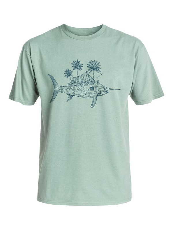 0 Waterman Diamond Fish - T-Shirt  AQMZT03145 Quiksilver