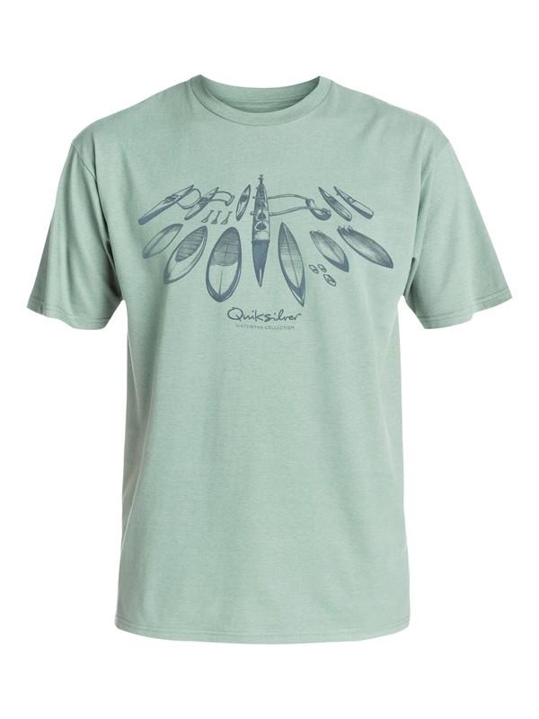 0 Waterman Master Quiver - T-Shirt  AQMZT03147 Quiksilver