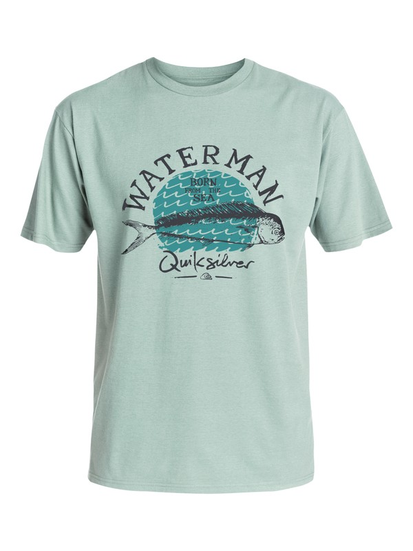 0 Waterman Good Eats - T-Shirt  AQMZT03157 Quiksilver