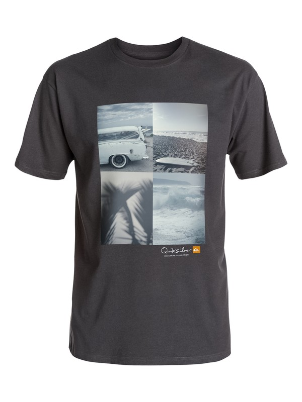 0 Waterman Quad View T-Shirt  AQMZT03165 Quiksilver