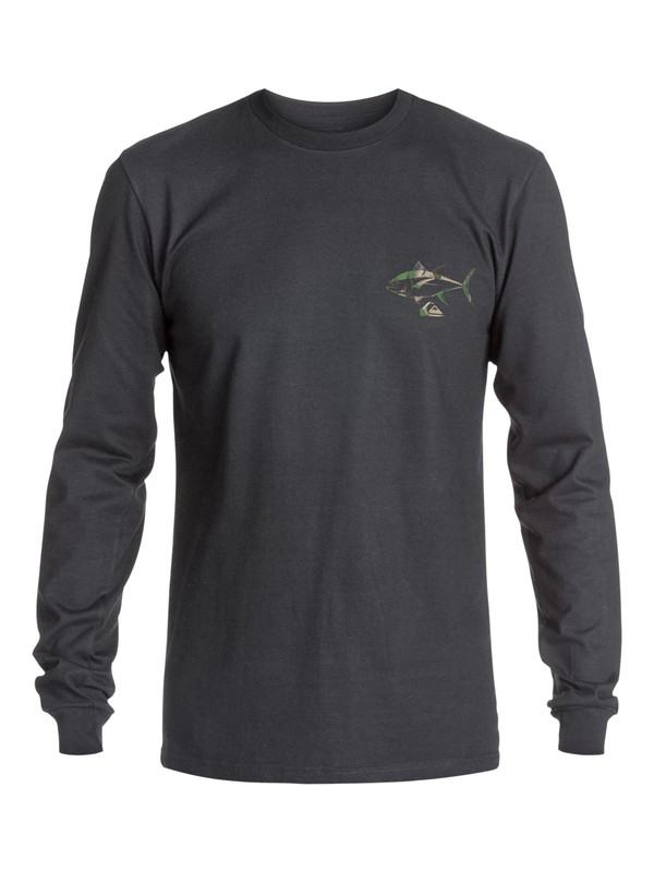 0 Waterman Tunafish Long Sleeve Tee  AQMZT03186 Quiksilver