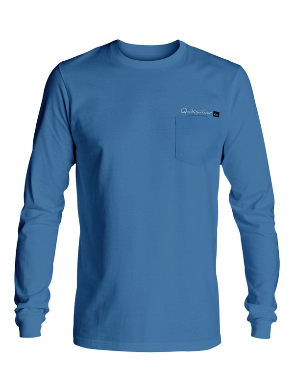 0 Waterman Gut Check Long Sleeve Tee  AQMZT03198 Quiksilver