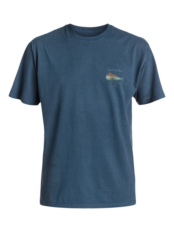 0 Waterman Big Bull - T-Shirt  AQMZT03206 Quiksilver