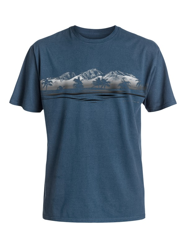0 Waterman Coast To Coast - T-Shirt  AQMZT03207 Quiksilver