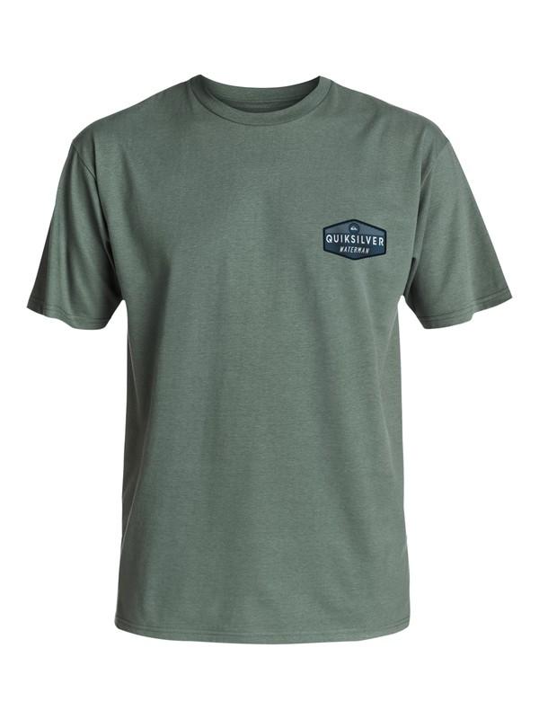 0 Hombres Camiseta Sacred  AQMZT03213 Quiksilver