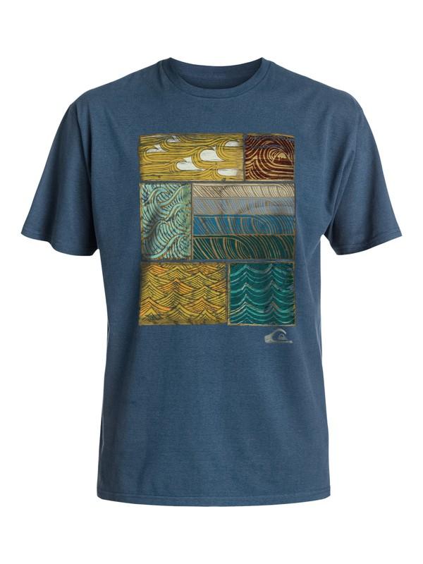 0 Hombres Camiseta Britt  AQMZT03214 Quiksilver