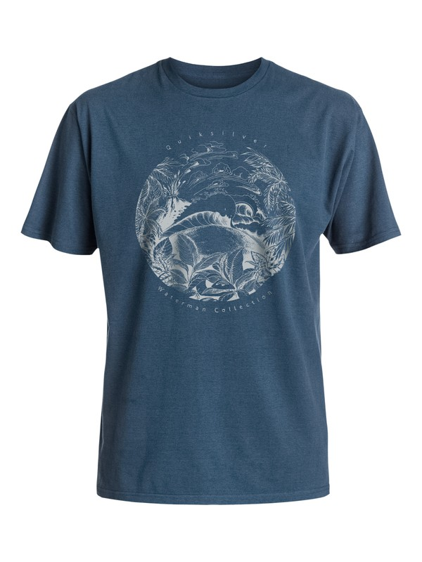 0 Waterman Stand Out - T-Shirt  AQMZT03217 Quiksilver