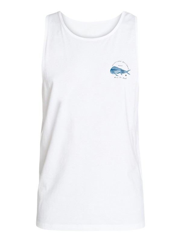0 Hombres Camiseta Tipo Tank  Live To Fish  AQMZT03218 Quiksilver