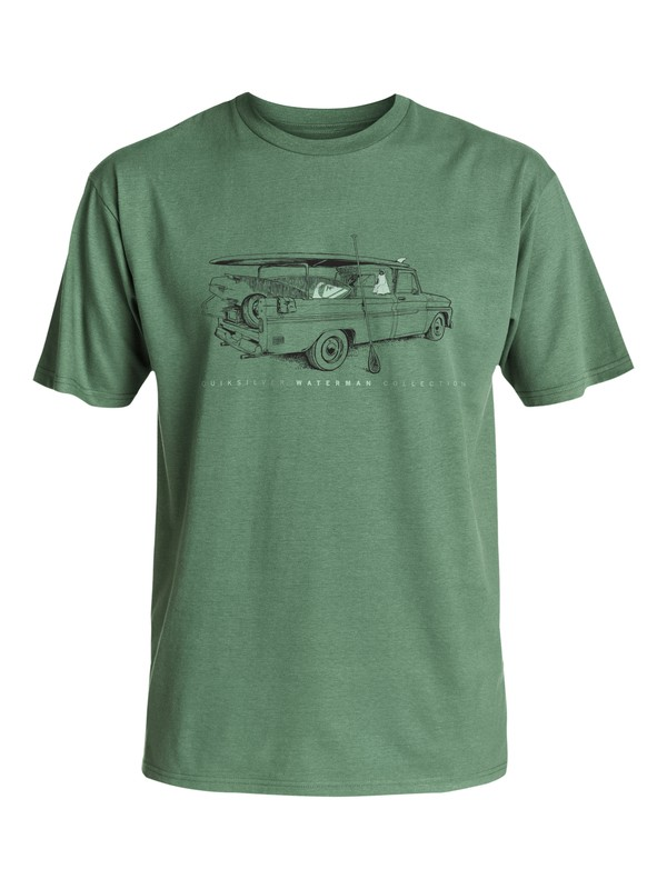 0 Waterman Cruiser - T-Shirt  AQMZT03222 Quiksilver