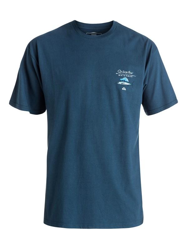 0 Hombres  camiseta Sail On  AQMZT03228 Quiksilver