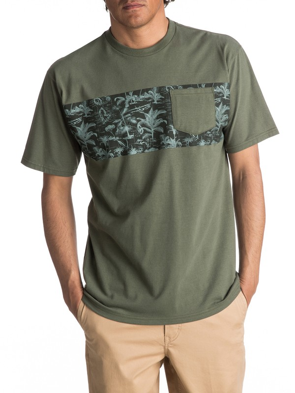 0 Waterman Island Scroll Tee  AQMZT03240 Quiksilver