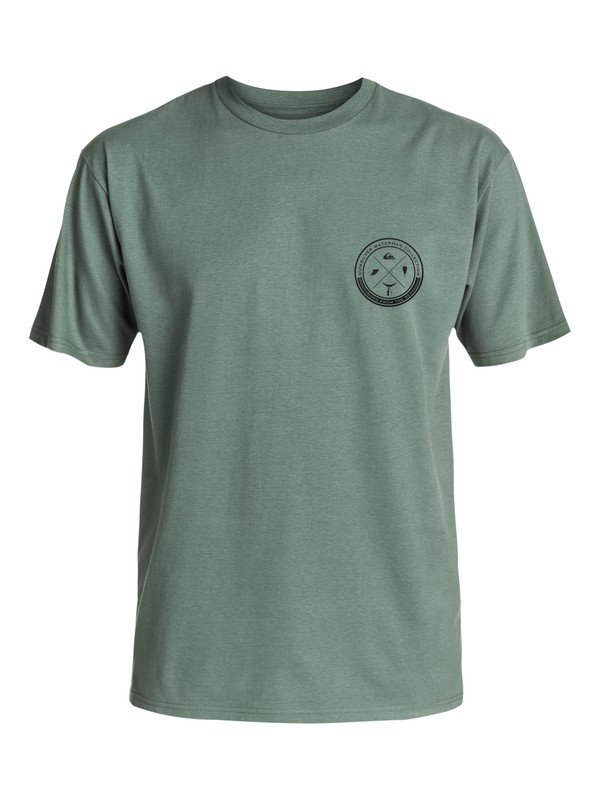 0 Waterman Oside - T-Shirt  AQMZT03248 Quiksilver