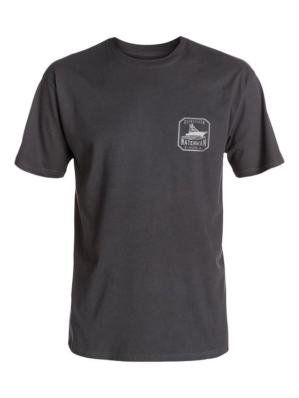 0 Hombres Camiseta  Sea Worthy  AQMZT03251 Quiksilver