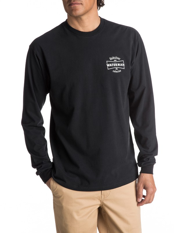 0 Waterman Inbrain Long Sleeve Tee  AQMZT03256 Quiksilver