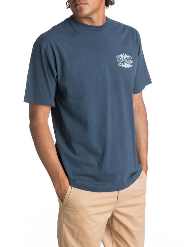 0 Hombres Camiseta 35 Miles  AQMZT03258 Quiksilver