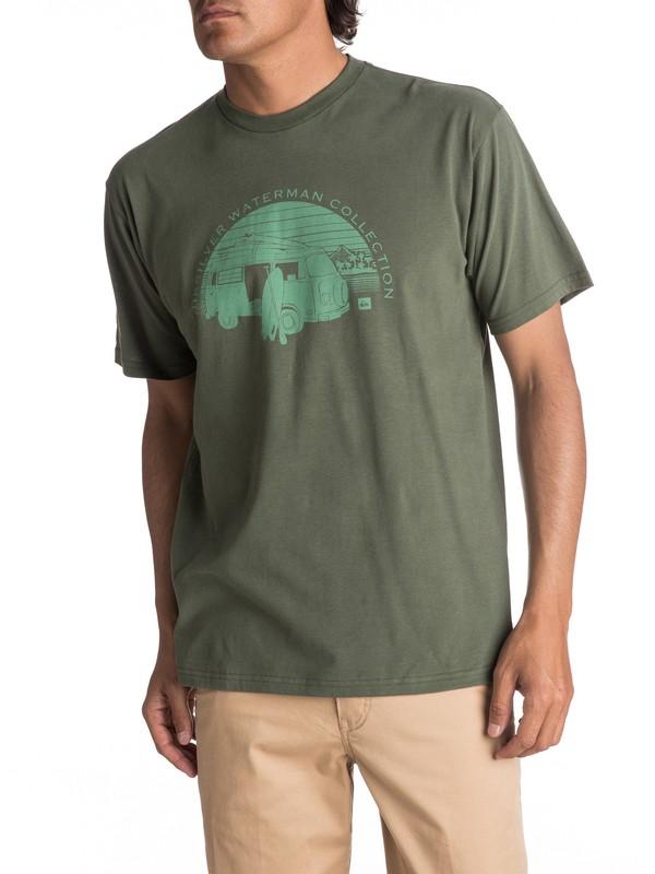 0 Hombres Camiseta  HCRA  AQMZT03259 Quiksilver