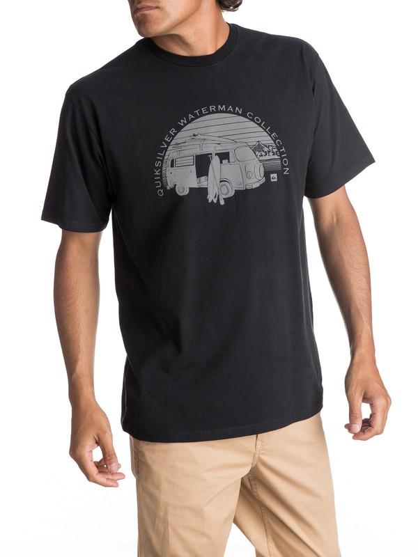 0 Men's HCRA Tee Black AQMZT03259 Quiksilver