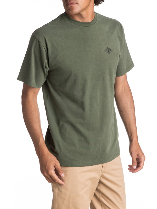 0 Hombres Camiseta  Stretch That  AQMZT03260 Quiksilver