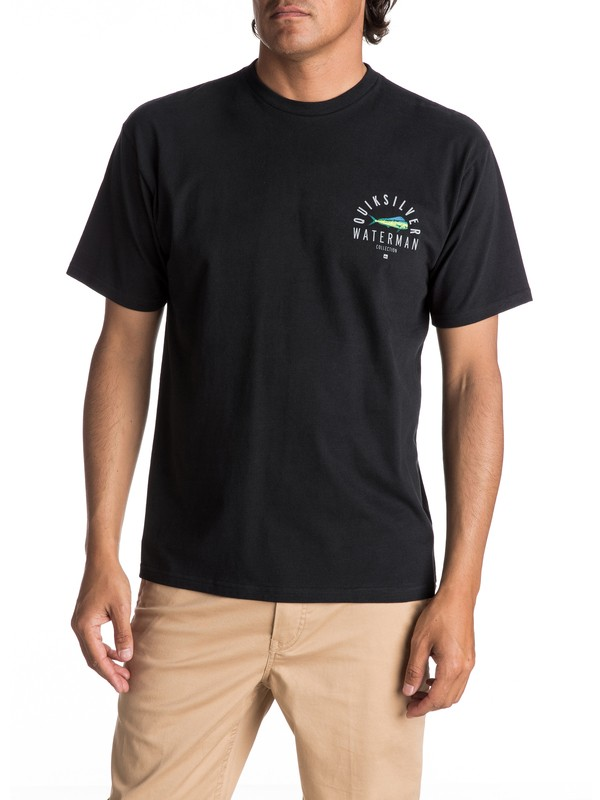 0 Fish Hero Tee Black AQMZT03261 Quiksilver