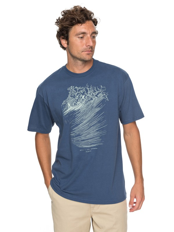 0 Waterman Big Guys Rule Tee  AQMZT03274 Quiksilver