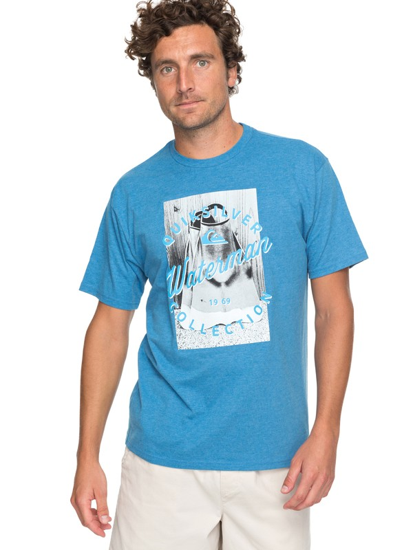 0 Waterman Da Water Tee Blue AQMZT03278 Quiksilver