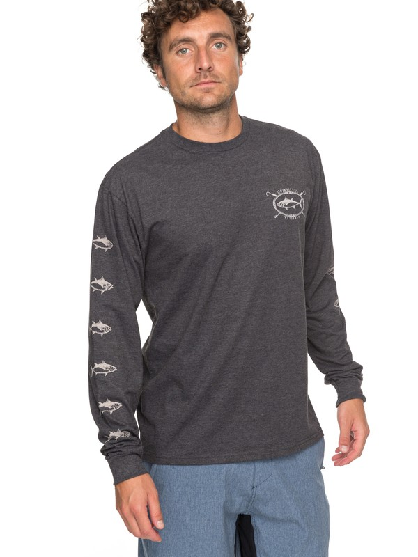0 Waterman Thunnus Long Sleeve Tee  AQMZT03281 Quiksilver