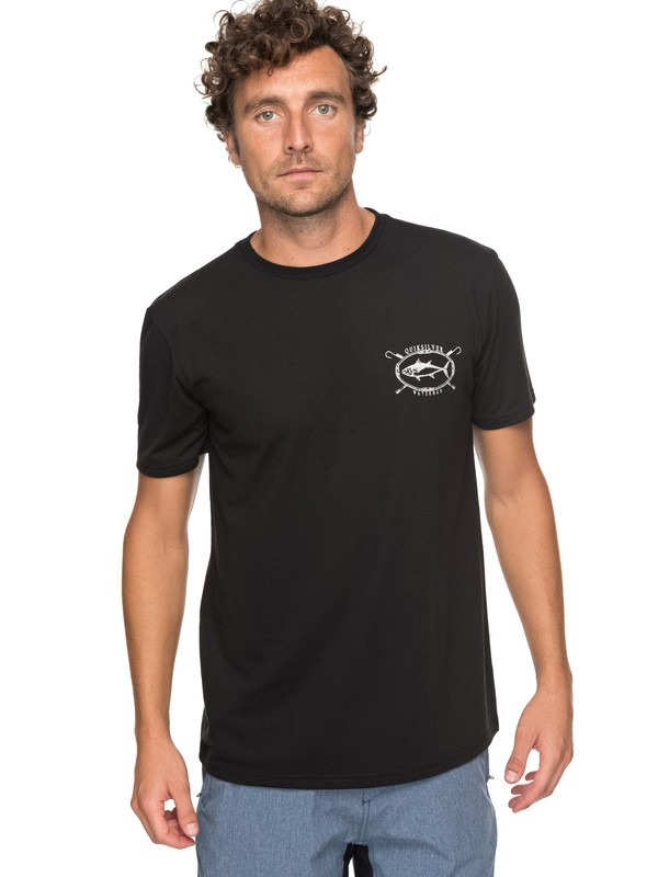 0 Waterman Thunnus Technical Tee  AQMZT03283 Quiksilver