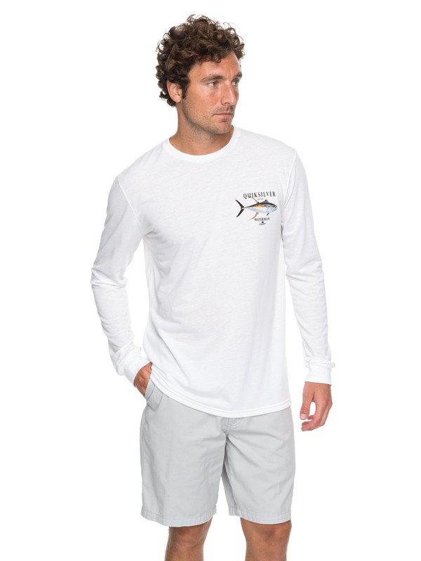 0 Waterman Golder Session Technical Long Sleeve Tee  AQMZT03286 Quiksilver