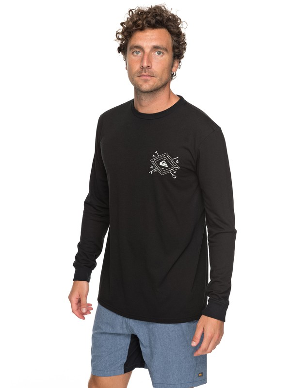 0 Waterman Sandhill Peaks Technical Long Sleeve Tee  AQMZT03287 Quiksilver