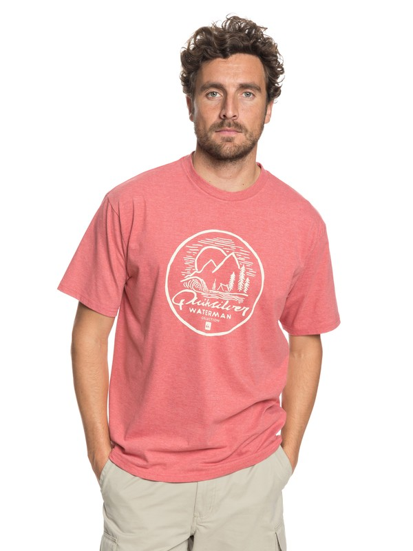 0 Camiseta Secret Point Waterman  AQMZT03292 Quiksilver