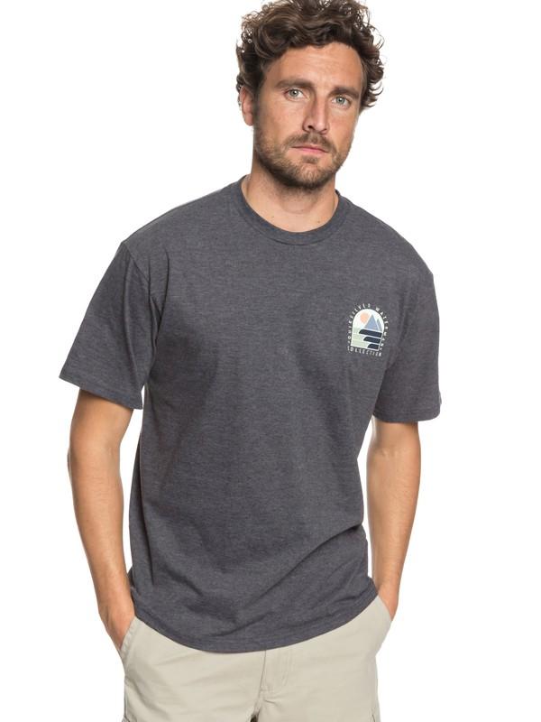 0 Waterman Paradise Window - T-Shirt  AQMZT03293 Quiksilver