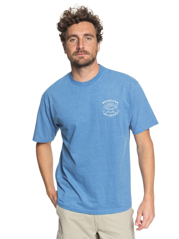 0 Waterman Catch & Enjoy - T-Shirt  AQMZT03294 Quiksilver