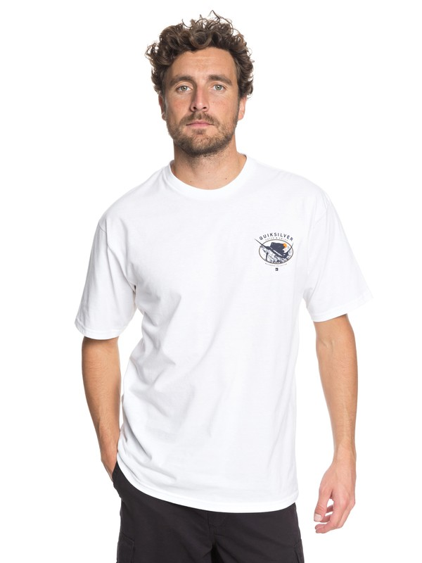 0 Waterman It Was A Good Day Tee  AQMZT03295 Quiksilver