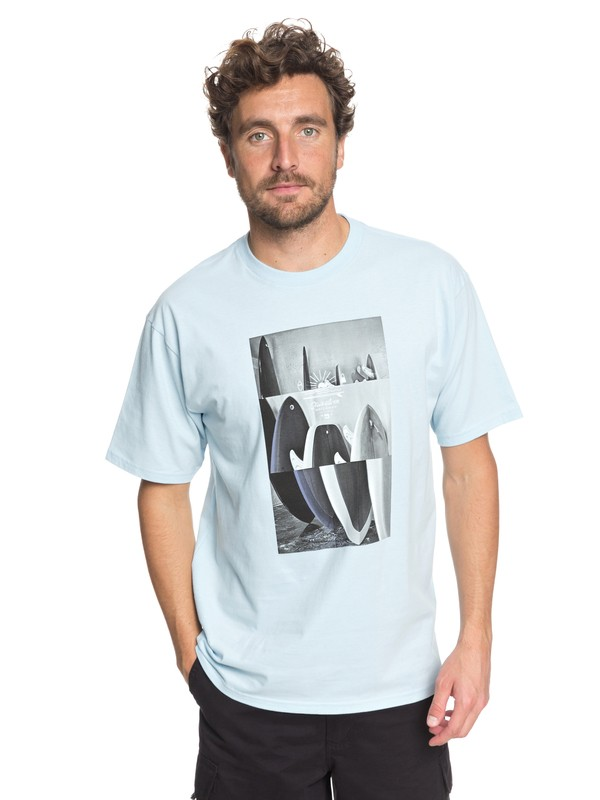 0 Waterman Board Room Tee Blue AQMZT03298 Quiksilver