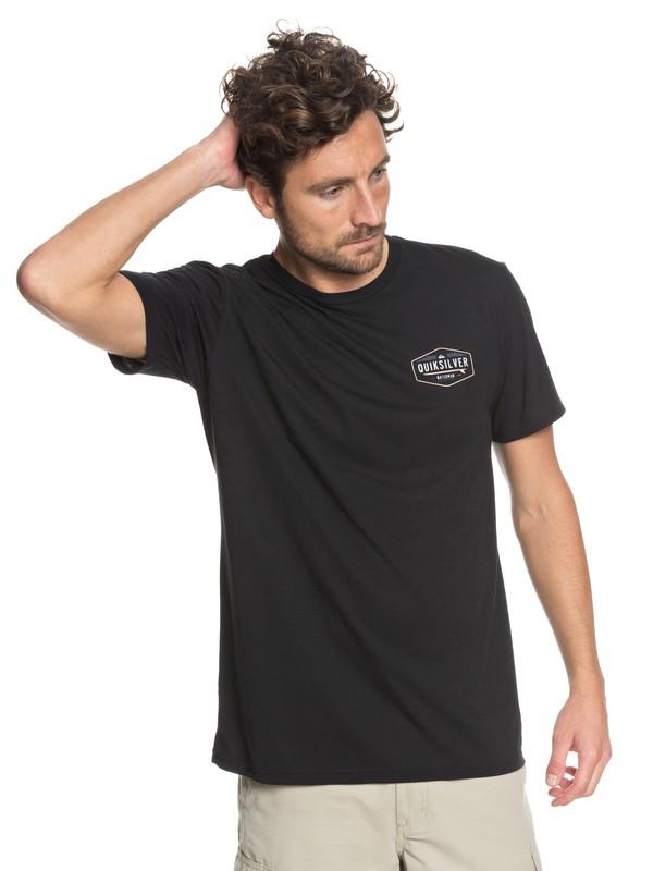 0 Camiseta Técnica QWC Waterman Negro AQMZT03301 Quiksilver
