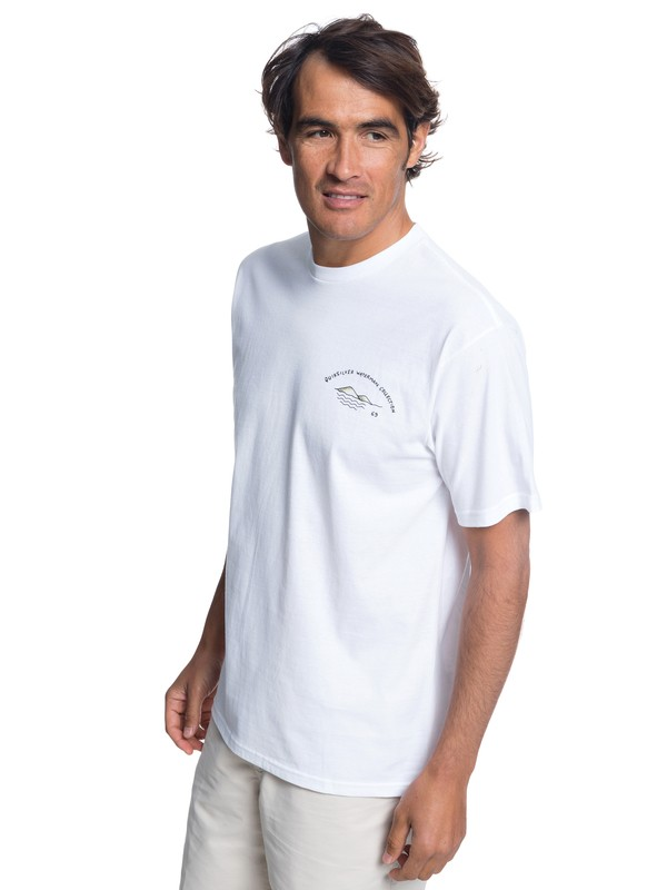 0 Waterman Lady Bomb T-Shirt White AQMZT03304 Quiksilver
