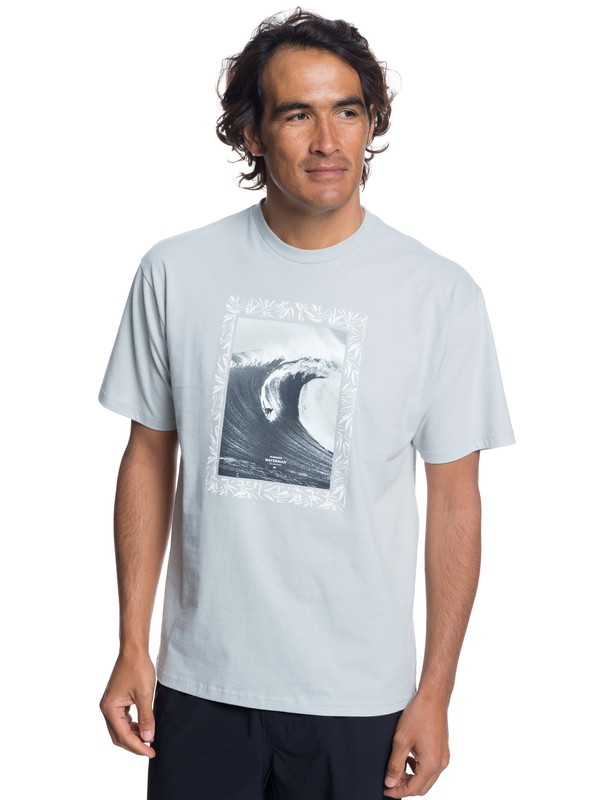 0 Waterman Nice Right Tee Grey AQMZT03306 Quiksilver