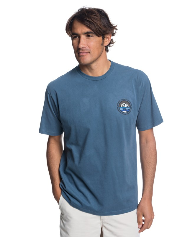 0 Waterman Northwest T-Shirt Blue AQMZT03308 Quiksilver