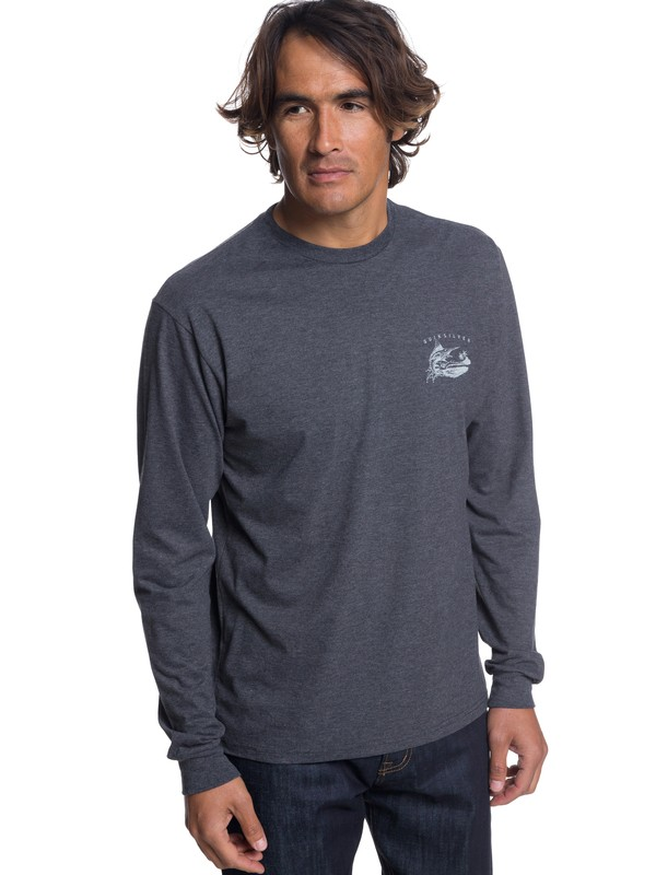 0 Waterman Jumper Long Sleeve T-Shirt Black AQMZT03314 Quiksilver